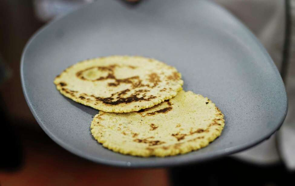 A view of tortillas that are made from flour and corn at Toro Cantina on Thursday, March 5, 2020, in Albany, N.Y. (Paul Buckowski/Times Union)