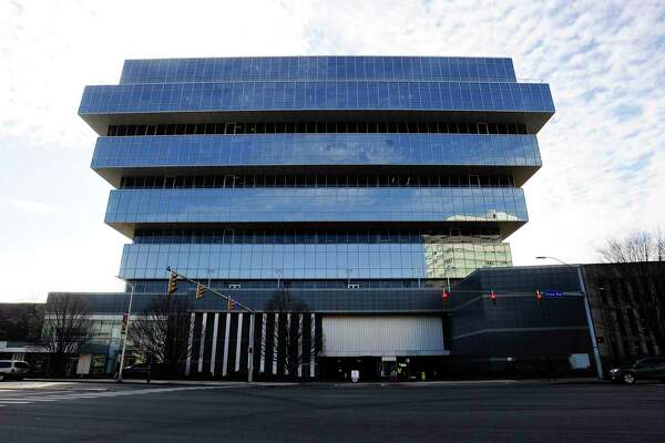 Purdue Pharma is headquartered at 201 Tresser Blvd. in downtown Stamford, Conn.