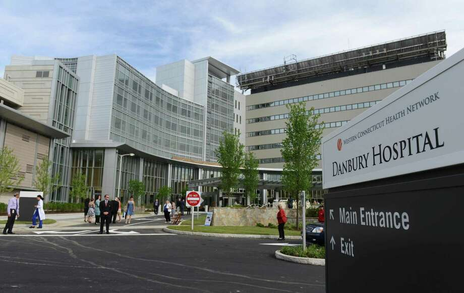 The hospital chain Nuvance Health, which includes Danbury Hospital, announced March 8, 2020 that it was suspending its volunteer program due to fears over the coronavirus. Photo: Tyler Sizemore / Tyler Sizemore / The News-Times