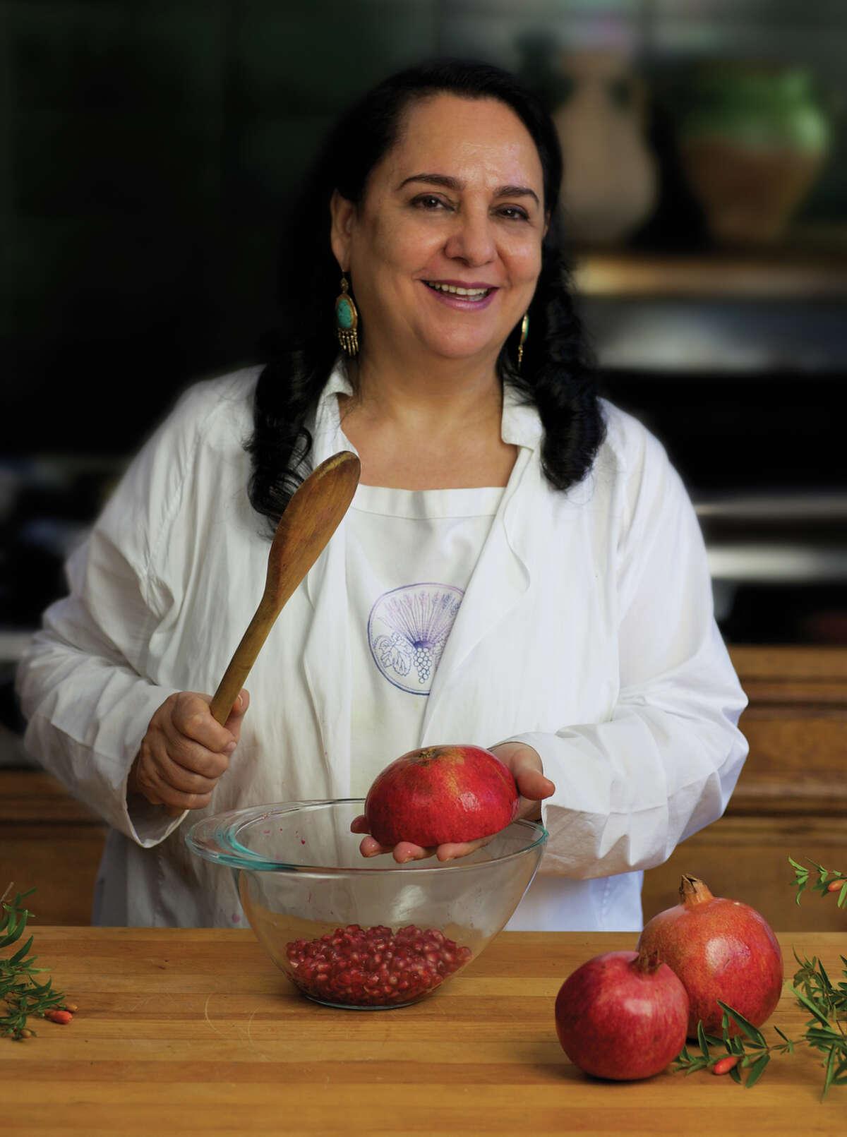 Cookbook author Najmieh Batmanglij, called
