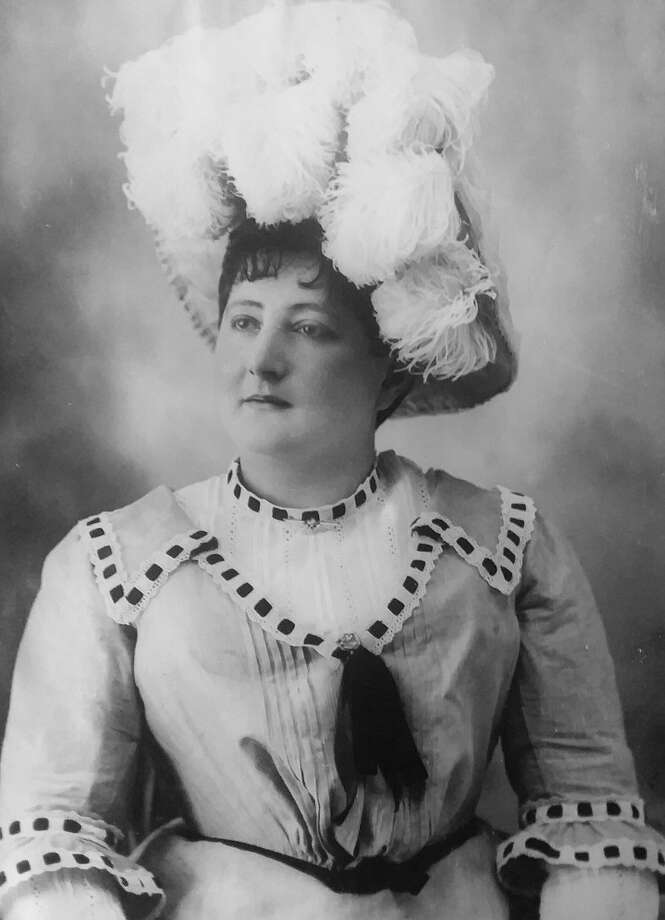 Mrs. Fernanda Hansen was a music teacher who resided in Manistee roughly 10 years. The above photo is included in the museum's Costume Portrait collection, Album 7, Photo 254.