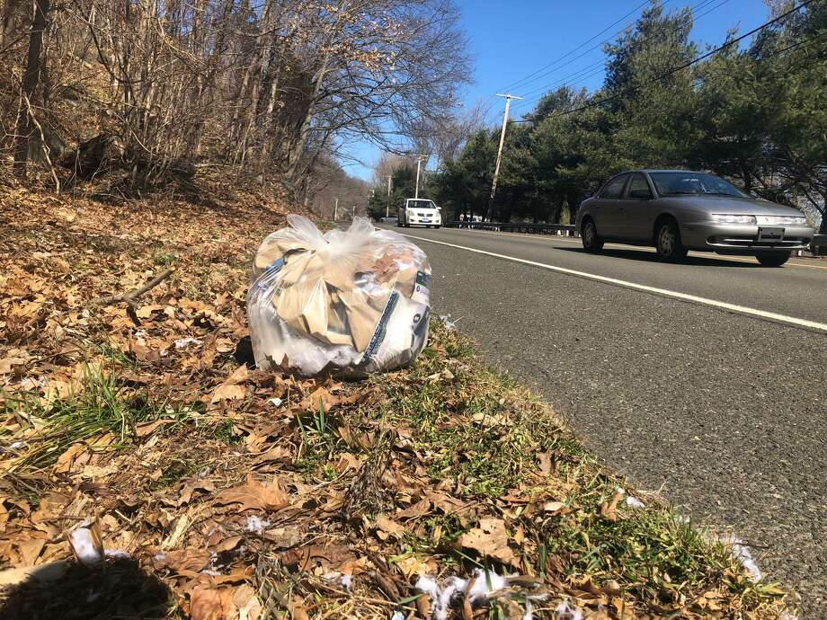 Little remains a problem in Shelton, and the Anti-Litter Committee is seeking more volunteers to help battle this issue. Photo: Brian Gioiele / Hearst Connecticut Media / Connecticut Post