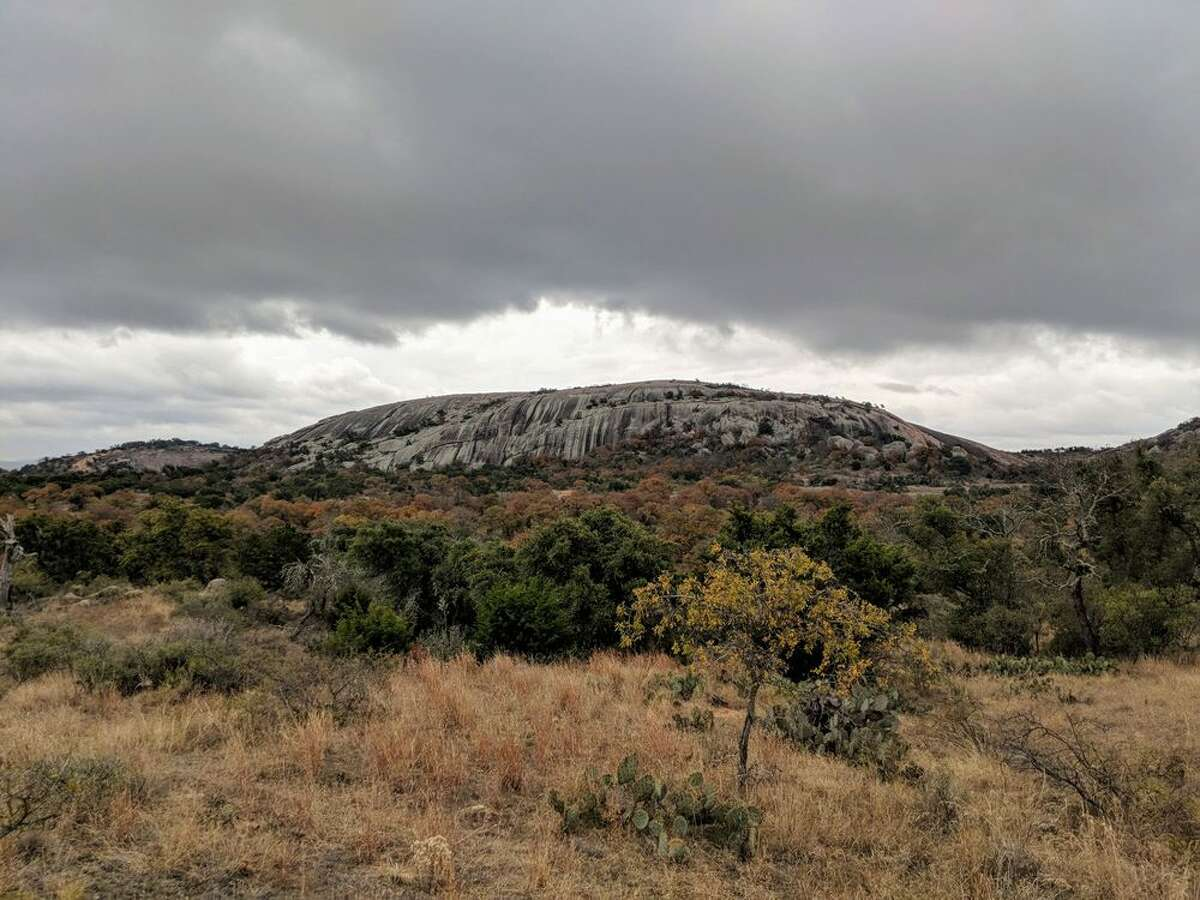 Enchanted Rock Known for its magnificent ancient pink granite dome, Enchanted Rock is a go-to destination for many campers. Everything from the scenery, to the rock formations, the trails, and stargazing is magical. Yelp/Kristina M. review: This park is absolutely breath-taking. I highly recommend to anyone who loves camping in a more primitive manor! Photo: Yelp/Colin S.