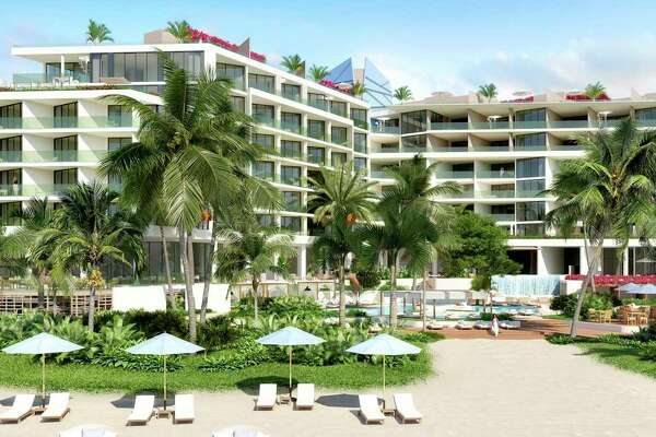 When completed early next year, the Andaz Turks & Caicos Residences at Grace Bay in the Turks & Caicos Islands will be a 59-key hotel featuring 74 luxury residences. Nine penthouses will crown the resort set on 5.5 acres of Grace Bay Beach.