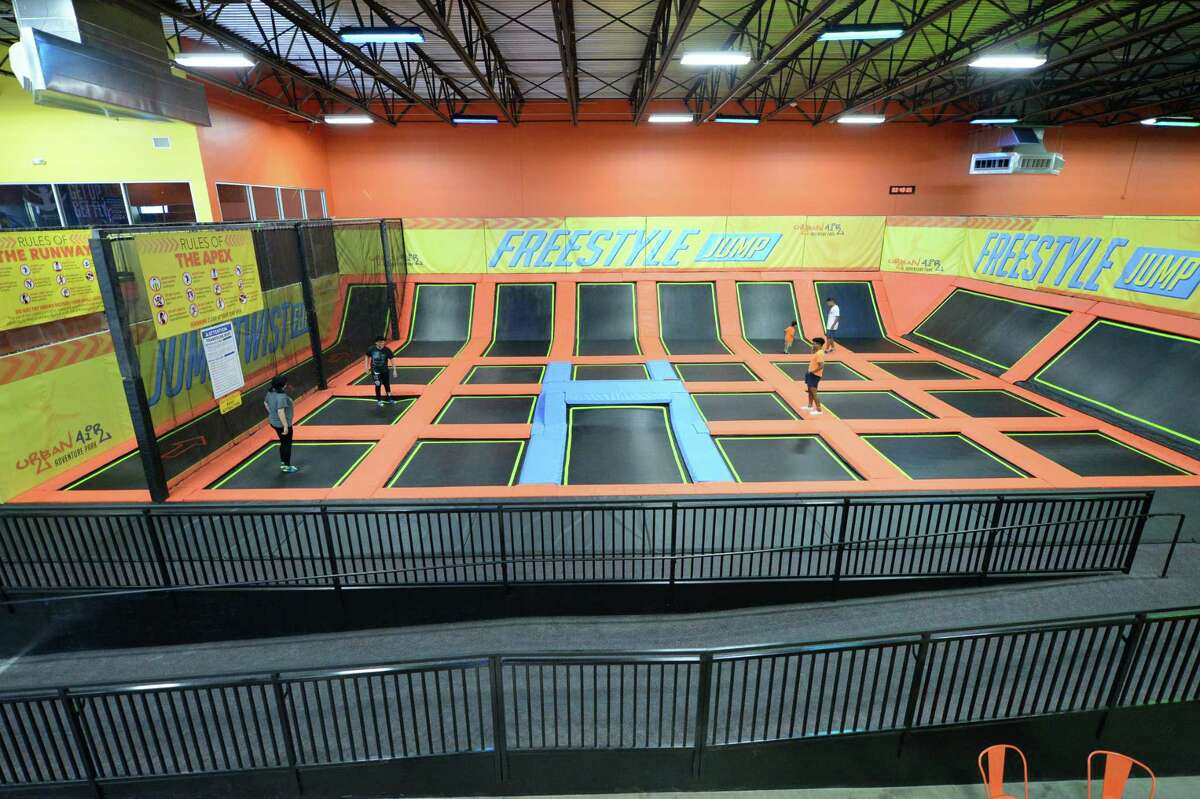 APEX Trampolines at the Urban Air Trampoline and Adventure Park, Katy, TX on Monday, March 8, 2020.
