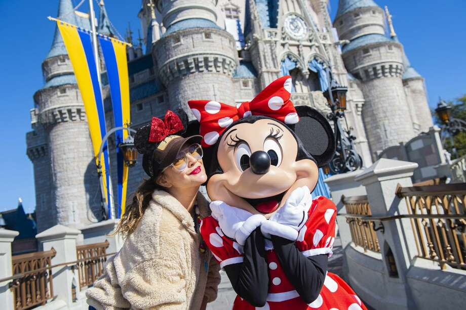 """""""Happiest place on Earth"""" or """"dystopian breeding ground for coronavirus""""? Photo: Getty Images / 2019 Walt Disney Resorts"""