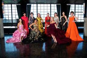 The 2020 Houston Chronicle Best Dressed honorees are Joanna Hartland Marks, Alice Mao, Leigh Smith, Roslyn Bazzelle Mitchell, Gaynell Drexler, Hall of Famer Greggory Burk, Melissa Juneau, Estela Cockrell, Ann Ayre and Hallie Vanderhider.