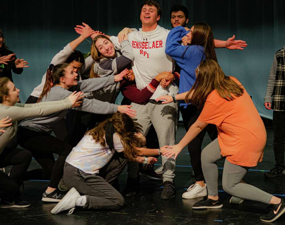 "Trumbull High School's production of the comedy classic ""Bye Bye Birdie"" will be onstage for five performances March 20-28. Photo: Www.THSmusicals.com"