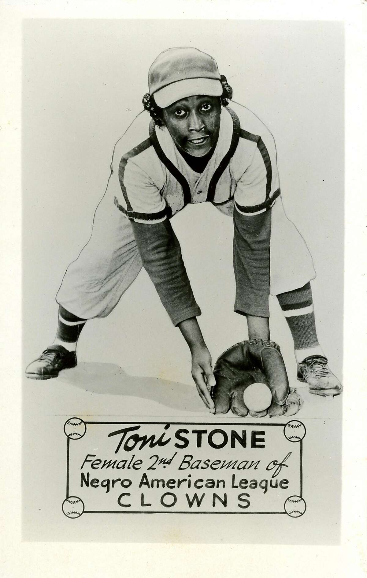 Toni Stone, the first female baseball player in the Negro Leagues.