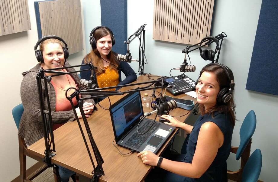 The Workwell has added a podcast studio in northwest Houston. Photo: Caldwell Cos.