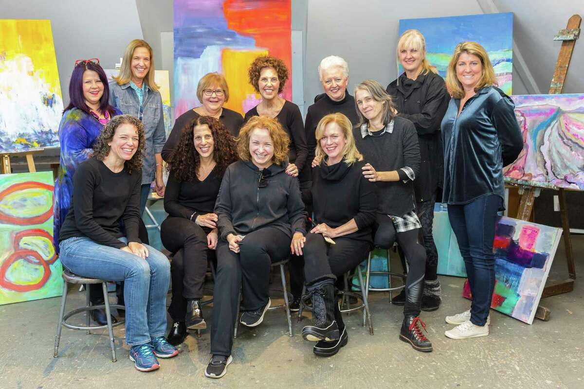 The Abstract 11 artists from Ridgefield Guild of Artists open their
