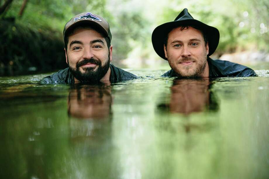 Justin Lansing and Joe Mailander, known as the Okee Dokee Brothers, will perform on Friday, March 13 at the Midland Center for the Arts as well as host a songwriting circle on Saturday, March 14 at Chippewa Nature Center. (Photo provided)