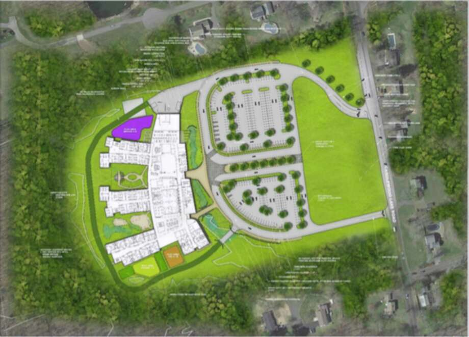 The Brookfield Board of Education has approved the schematic designs prepared by Techton Architects for the new Huckleberry Hill school. Photo: Contributed Photo / The News-Times / The News-Times Contributed