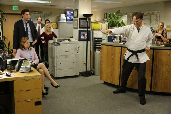 """#18. The Office (U.S.) - IMDb user rating: 8.8 - Years on the air: 2005-2013 Based on Ricky Gervais and Stephen Merchant's hit BBC show, the American version starred Steve Carell as the well-meaning but painfully awkward boss of the Dunder-Mifflin paper company. The show turned Carell, who up until then was best known as a """"Daily Show"""" correspondent, into a household name and led to a film career. This slideshow was first published on theStacker.com"""