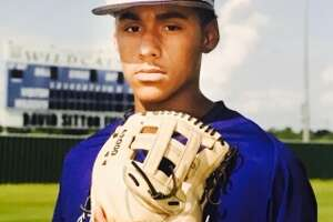Humble High School pitcher Anthony Tejada.