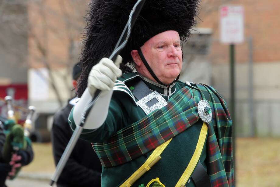 Scenes and faces from the Greater Bridgeport St. Patrick's Day Parade, in downtown Bridgeport, Conn. March 15, 2019. Photo: Ned Gerard / Hearst Connecticut Media / Connecticut Post