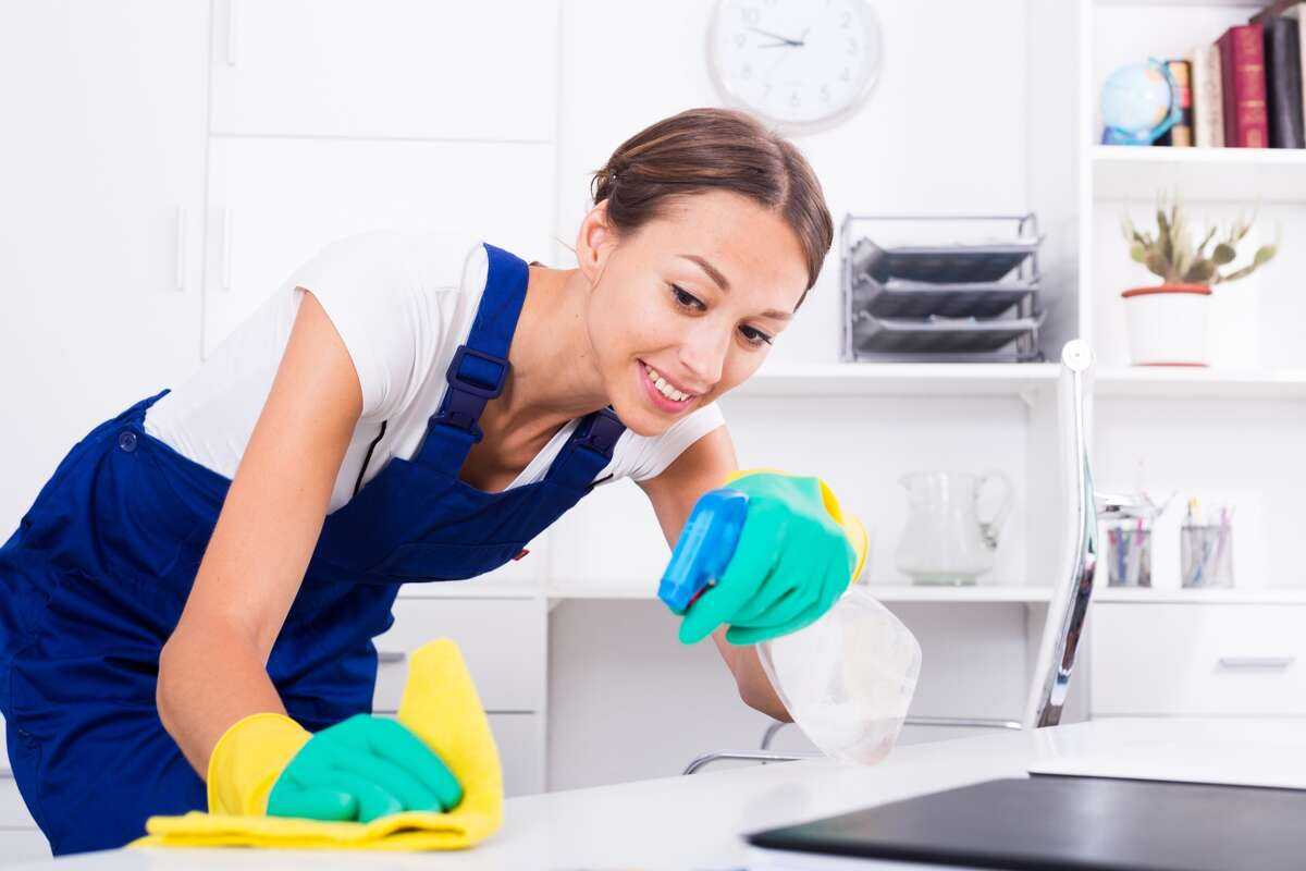 Disinfectants can kill coronavirus on nonporous surfaces in about a minute.