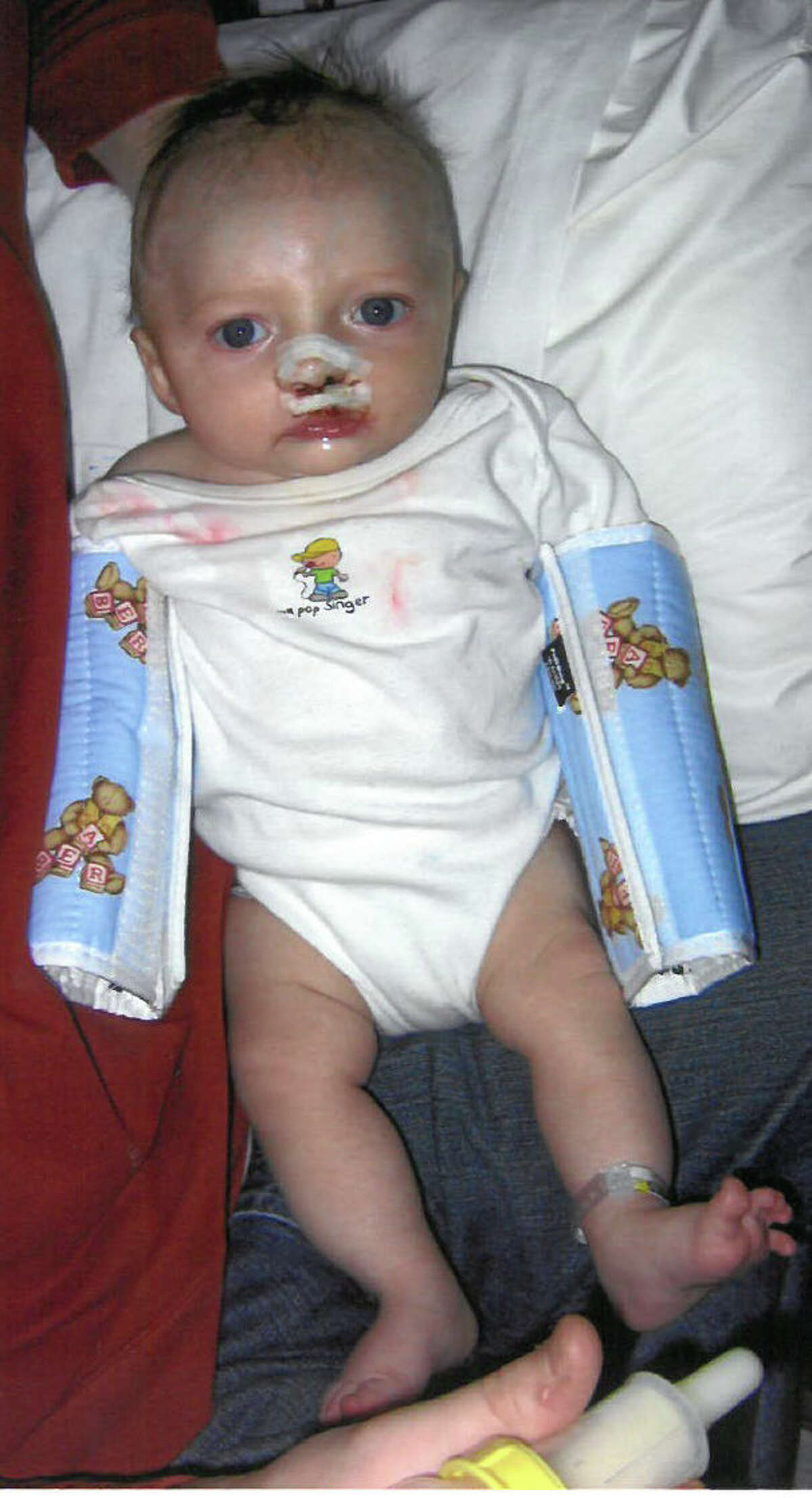 Carter Powell as an infant. (Submitted photo)