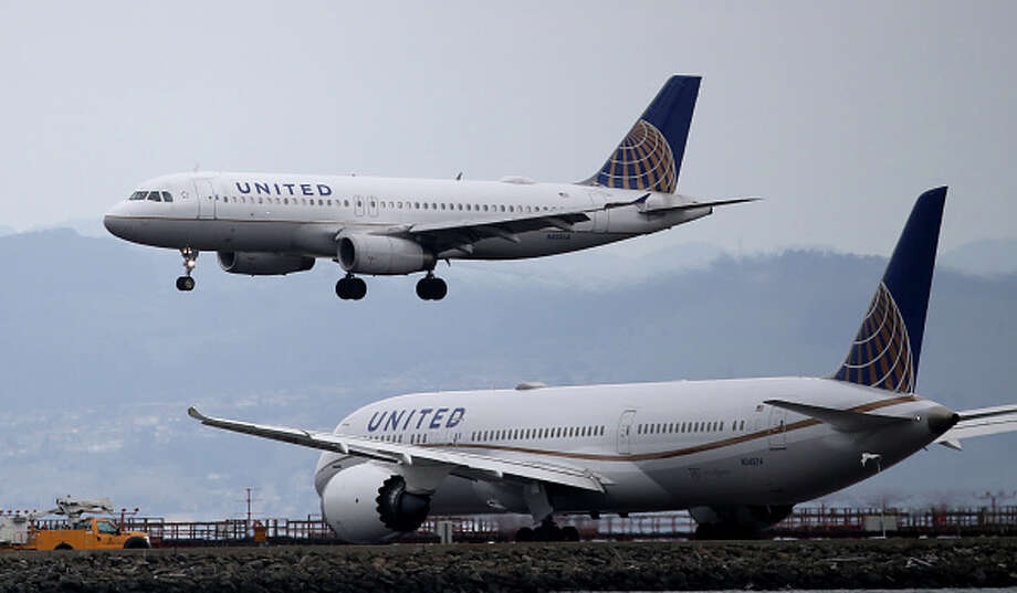 On Wednesday, United announced that it would be laying off more than 3,000 employees in the San Francisco Bay Area. Photo: Justin Sullivan/Getty Images / 2020 Getty Images