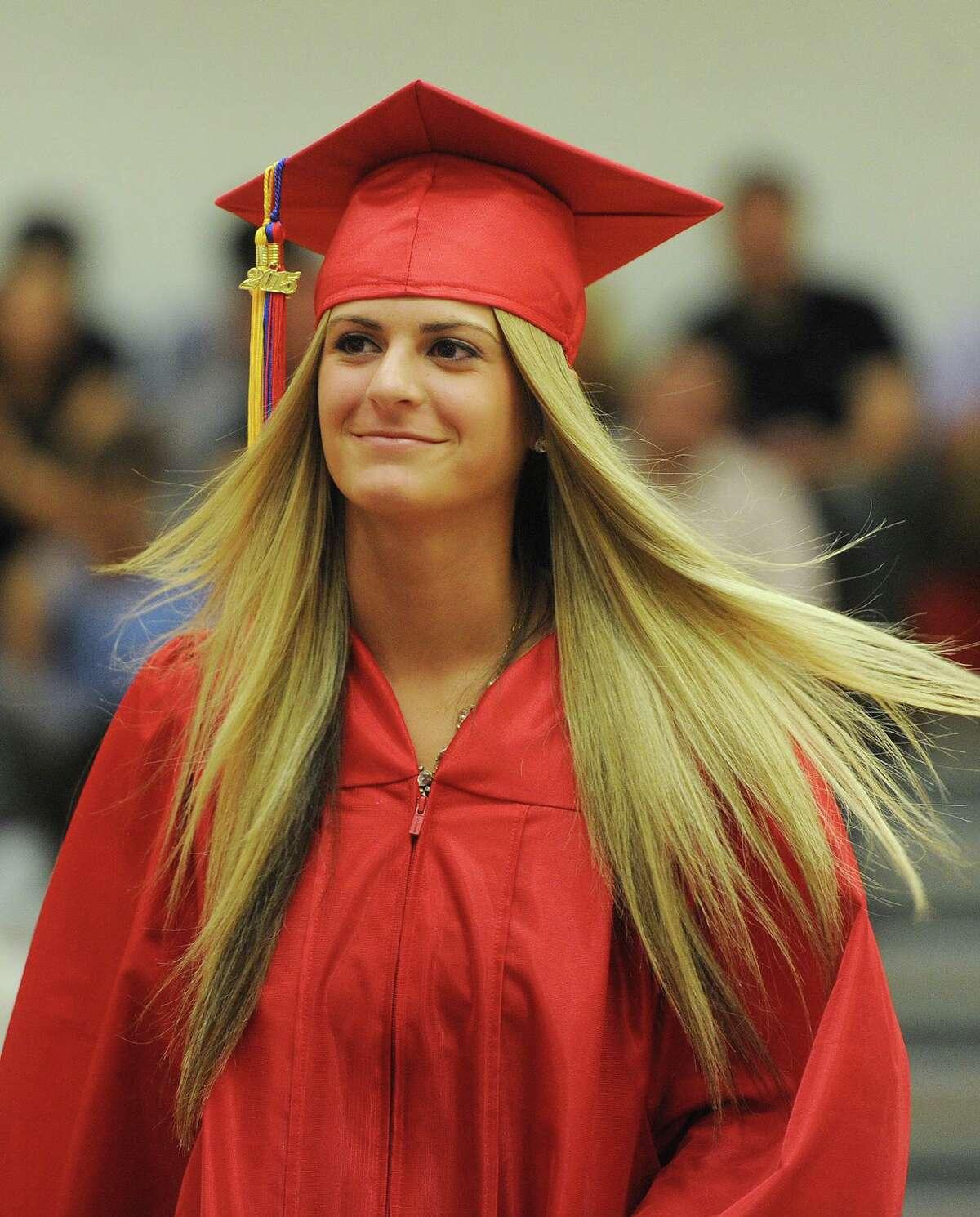 Foran High School graduation in Milford, Conn. on Tuesday, June 16, 2015. Danielle Kemp - 'Danni'