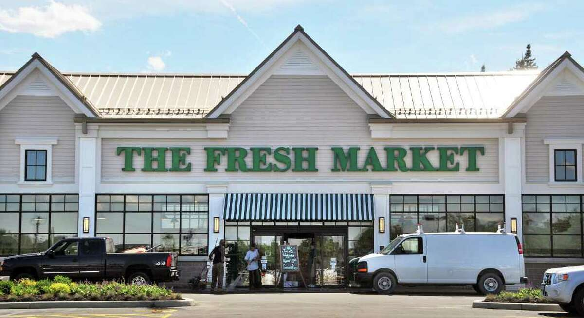 Entrance of The Fresh Market in Latham. (John Carl D'Annibale / Times Union)