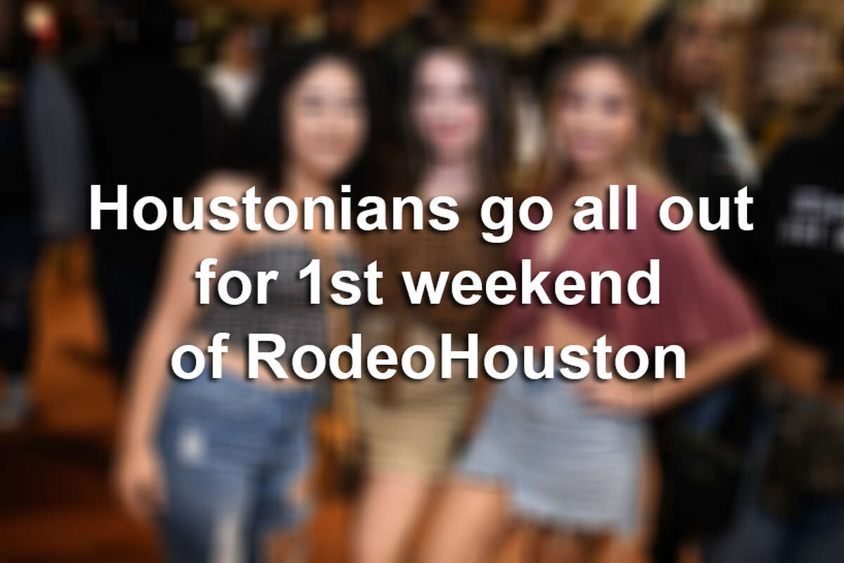 Music fans were out in full force in Houston for the first weekend of RodeoHouston.