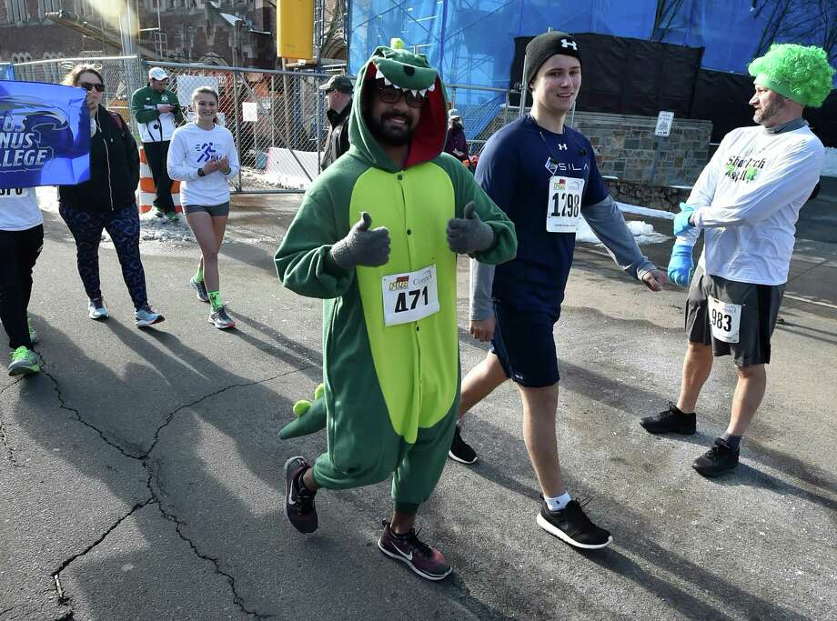 The Shamrock Stroll 5k is on March 15 at 10 a.m. at Harbor Point, 1 Harbor Point Road, Stamford. For more information, visit eventbrite.com/e/8th-annual-harbor-point-shamrock-stroll-5k-runwalk-tickets-91151654051. Photo: Peter Hvizdak / Hearst Connecticut Media / New Haven Register