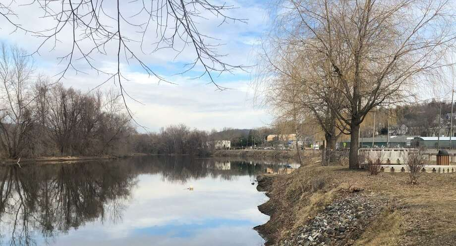 A 38-year-old woman died after being stabbed at Young's Field the evening of March 9, 2020. The body of the 32-year-old man police believe attacked her was later recovered from the Housatonic River. Photo: Deborah Rose / Hearst Connecticut Media / The News-Times  / Spectrum