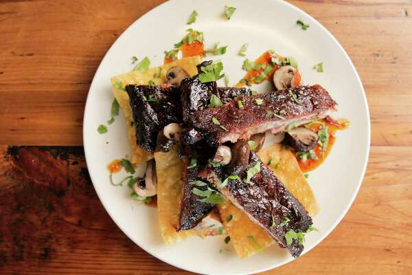 Thai chili short ribs at Elliot's Table