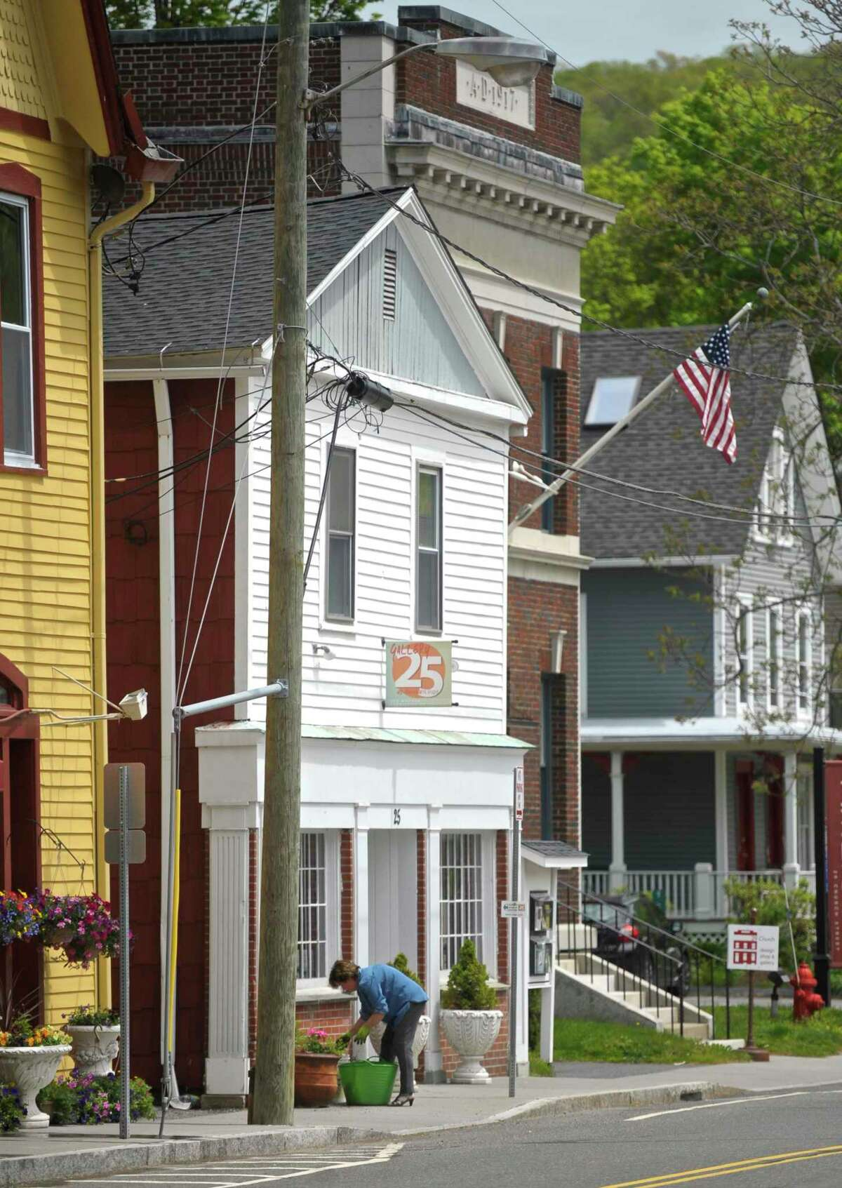25 Church Street, in New Milford, Thursday, May 19, 2016, in New Milford, Conn.
