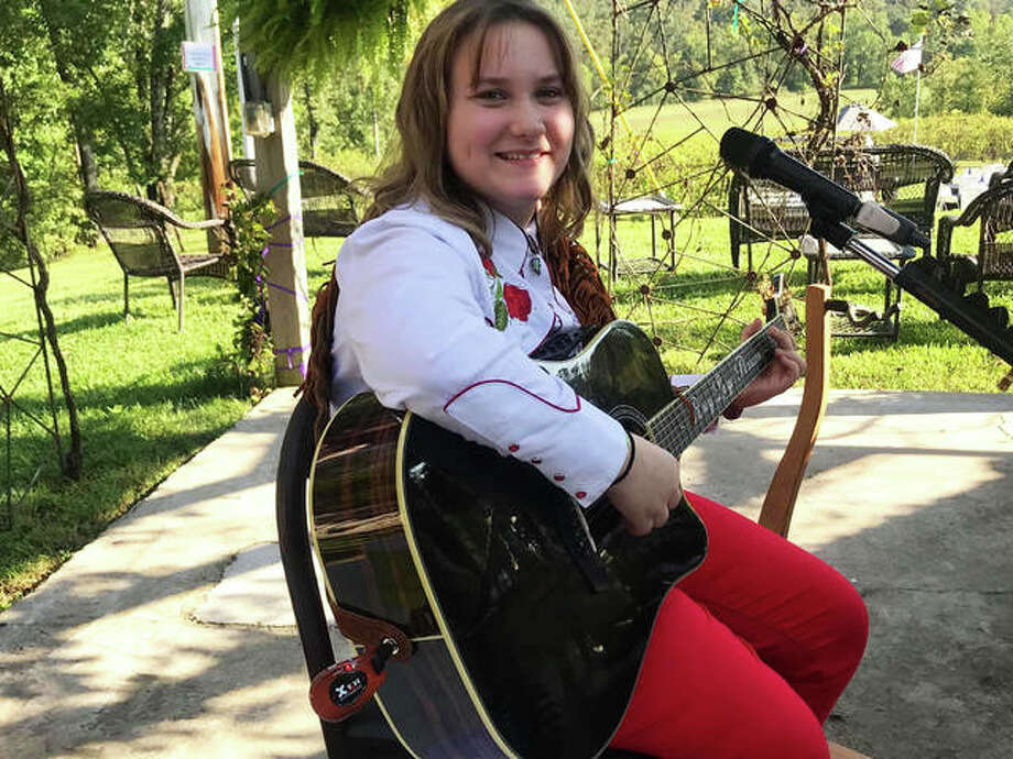 Ruby Leigh Pearson, 12, known as Lit'l Miss Country, will perform from 2-5 p.m. Sunday, March 15, at the Edwardsville American Legion Post 199, 58 Illinois Route 157, Edwardsville. Photo: Submitted