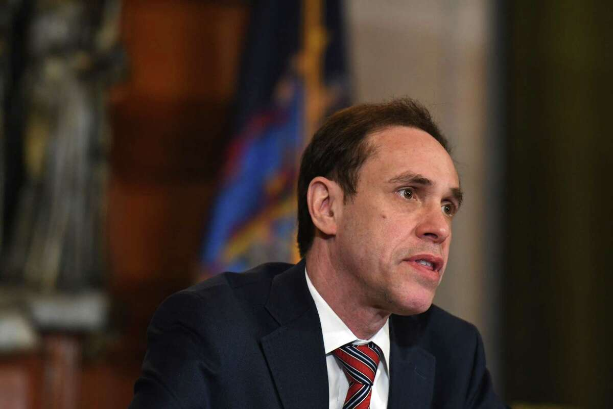 The New York State United Teachers (NYSUT) as well as the American Federation of Teachers joined local educators and others sent a letter to health Commissioner Howard Zucker, above, citing ongoing concerns with schools' reopening plans and mask policies in some school districts.