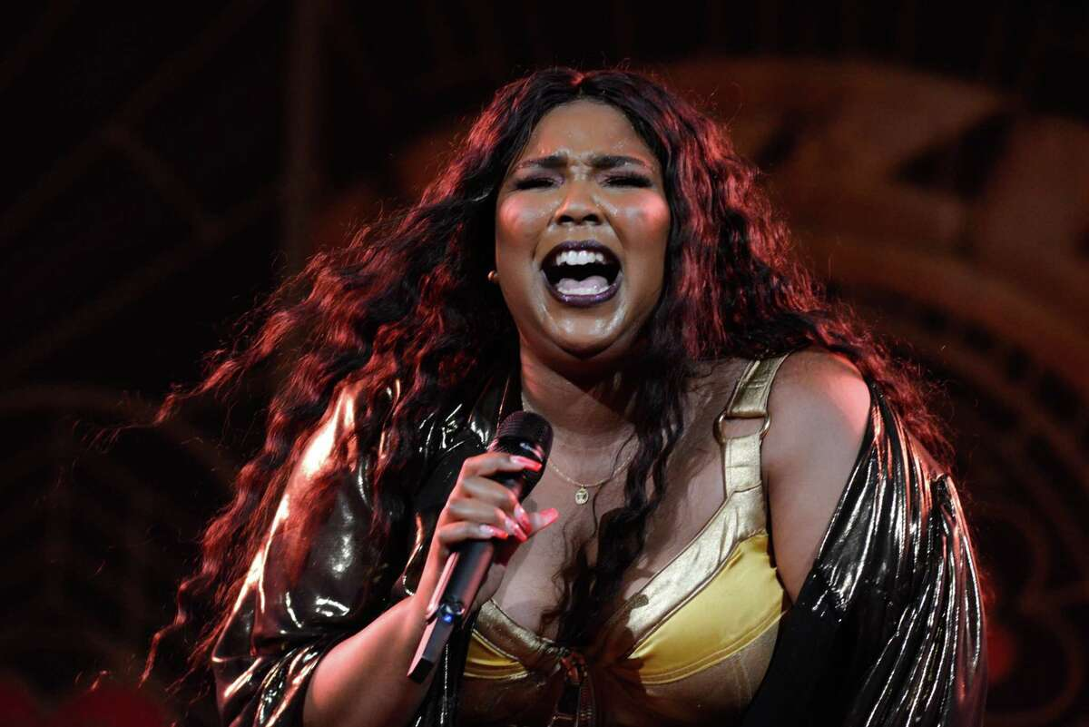 Pop phenom Lizzo brings her Cuz I Love You Too tour to the Bill Graham Civic on October 27, 2019 in San Francisco, Calif.