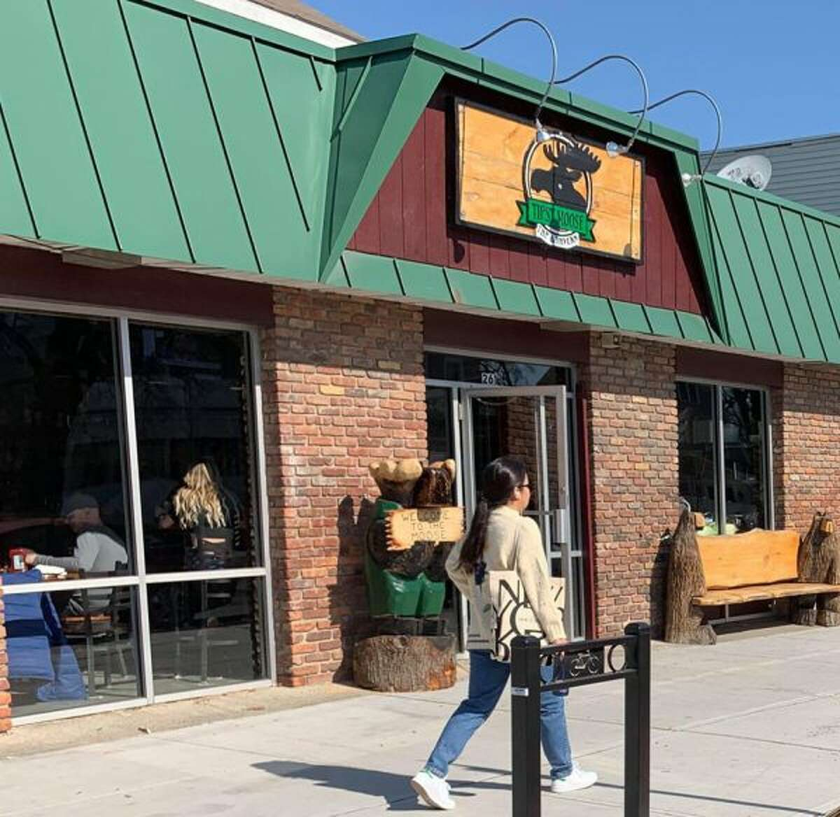 The new Tipsy Moose, on New Scotland Avenue in Albany.