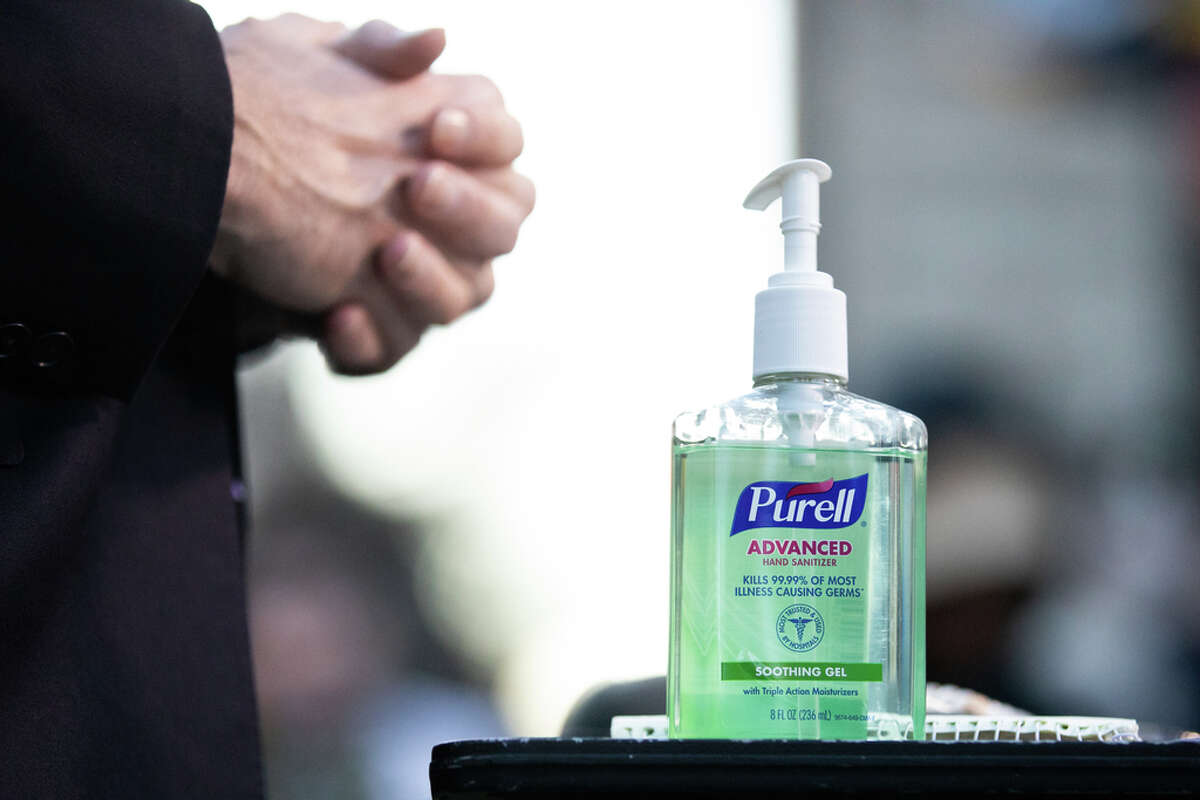 Bring hand sanitizer and wash or sanitize your hands as often as possible, especially if you are touching public surfaces or shaking hands or otherwise coming into contact with other people.