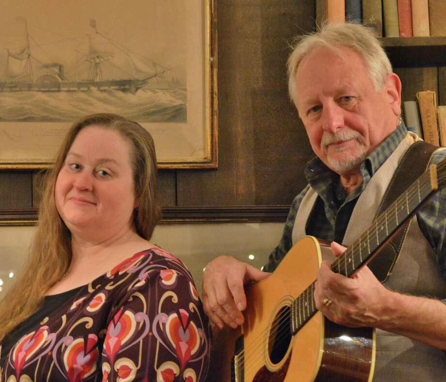 Richter House in Danbury is hosting Rick Spencer and Dawn Indermuehle for a 1970 music and history theme-based event at Richter House in Danbury April 19. Photo: Richter House / Contributed Photo