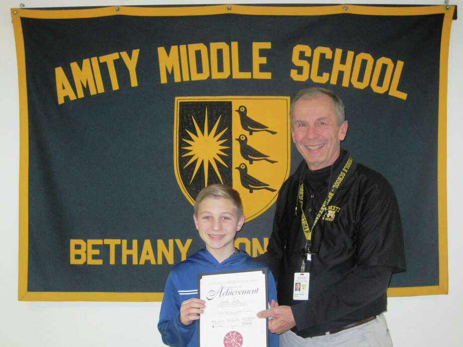 Landon Smith of Woodbridge, Grade 7 from Amity Middle School in Bethany, participated in The Prudential Spirit of Community Awards Program. Photo: Contributed Photo