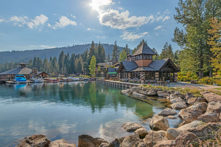 "Lake Tahoe's Fleur du Lac Estates set the stage for some of the most memorable scenes in the legendary movie, ""The Godfather Part II."" Now, the private, on-site residence of the renowned enclave's property developer, at 4000 West Lake Boulevard, is on the market for $5.5 million. Photo: Sotheby's"