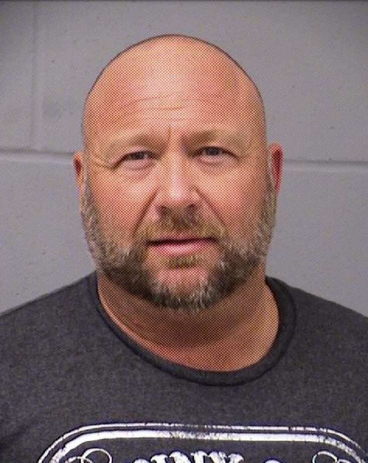 Conspiracy theorist Alex Jones was arrested on charges of driving while intoxicated early Tuesday morning, according to the Travis County Sheriff's Office. Photo: Travis County Sheriff's Office
