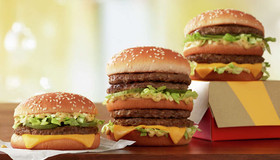 "McDonald's will start selling their new ""Double Big Mac"" and ""Little Big Mac""on March 11. Photo: McDonald's"
