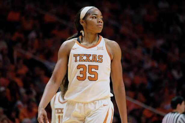 Texas forward Charli Collier, in a game against Tennessee earlier this season, was named a first-team all-Big 12 selection.