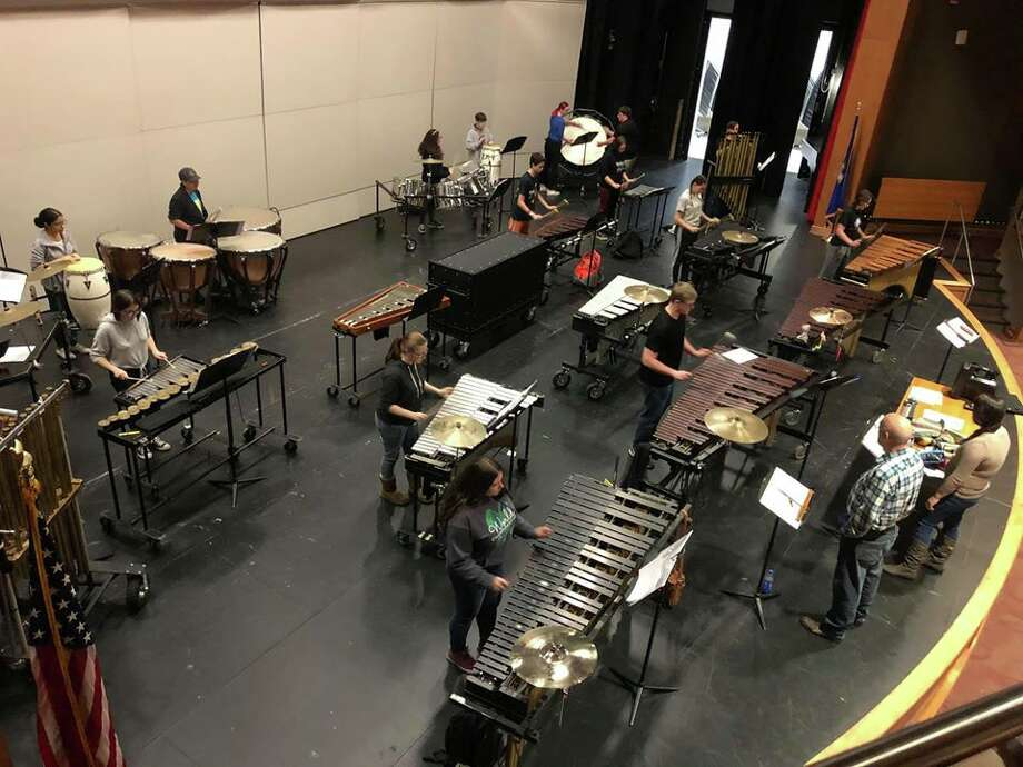 Don Binette, who has been directing the percussion ensemble and marching band since 1999, has successfully blended his love for Phish with his abilities as a band instructor to form an unorthodox-yet-successful partnership. Photo: Contributed Photo/Facebook/Naugatuck High School Percussion Ensemble