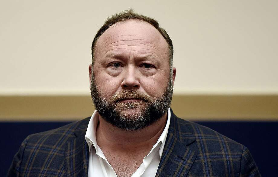 Infowars founder Alex Jones attends a hearing before the House Judiciary committee on Capitol Hill on Dec. 11, 2018, in Washington, D.C. (Olivier Douliery/Abaca Press/TNS) Photo: Olivier Douliery, TNS