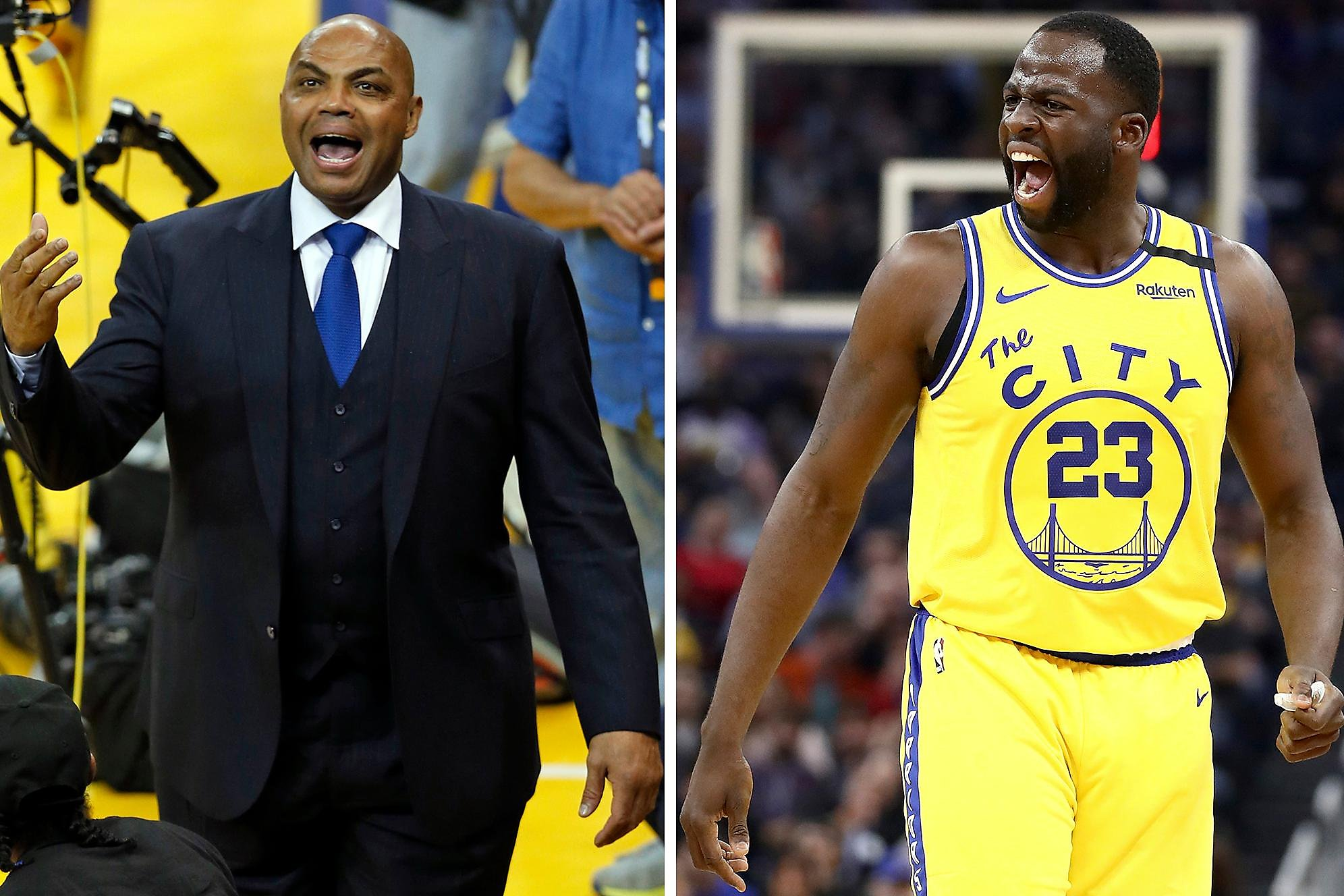 Barkley on Draymond Green: 'He's the least famous person in the boy band'