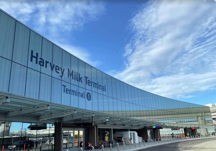 The opening of the second phase of SFO's Harvey Milk Terminal 1 has been postponed due to the coronavirus crisis Photo: Chris McGinnis
