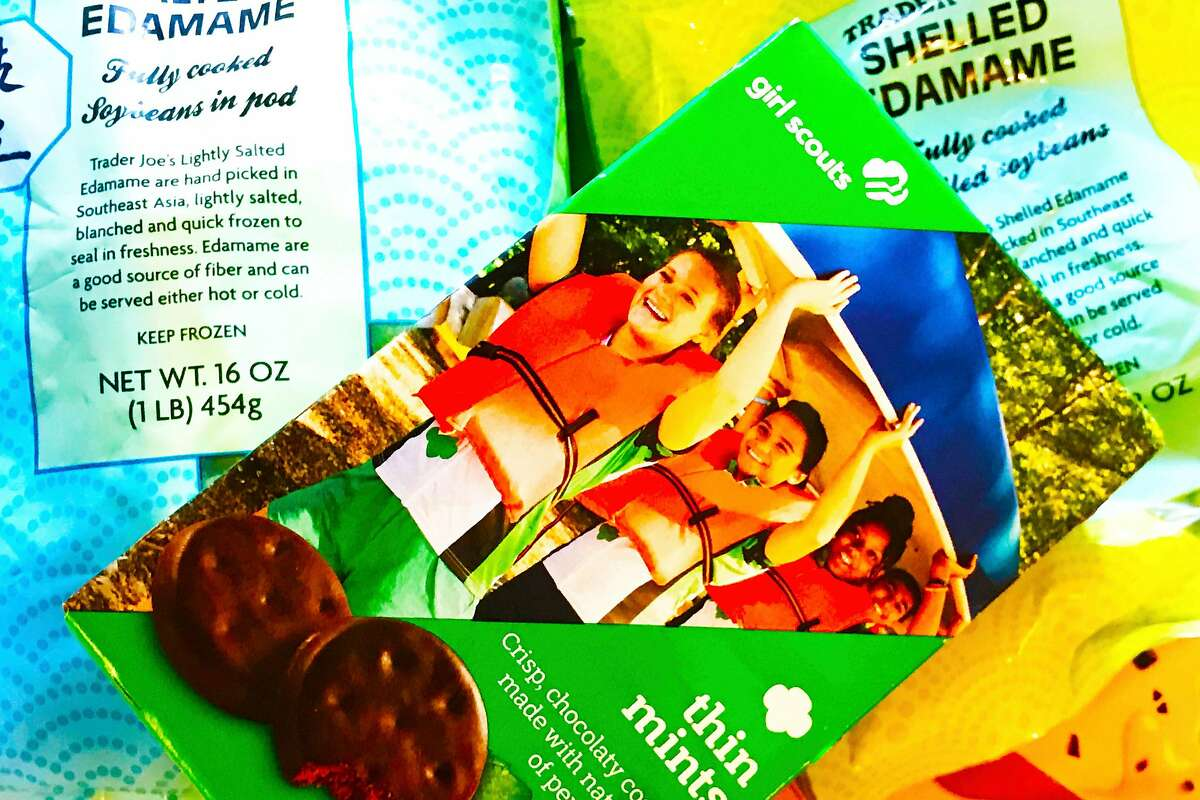 Thin Mints in the freezer are very delicious and much more likely to last if hidden under frozen peas or edamame.