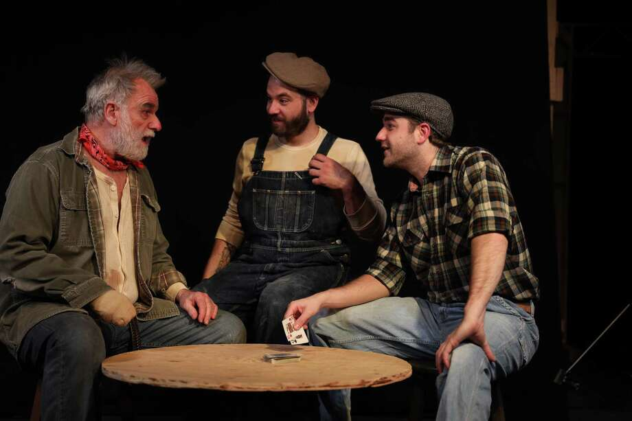 "Landmark Community Theater's production of ""Of Mice and Men"" opens March 14 at the Thomaston Opera House. Photo: Landmark Community Theater / Contributed Photo /"