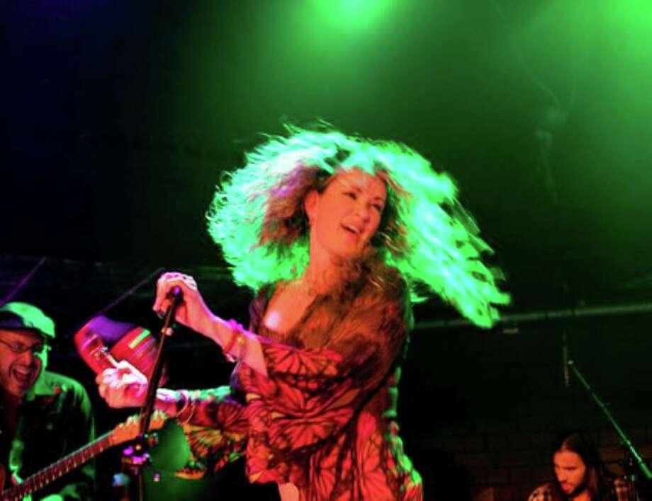Dana Fuchs rocks Infinity Music Hall Norfolk on Friday. Photo: Dana Fuchs / Contributed Photo