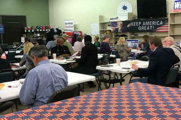 Jefferson County Republican voters gathered Tuesday evening at the party's headquarters in Port Neches to vote on what should be considered for inclusion in the county party's official platform.