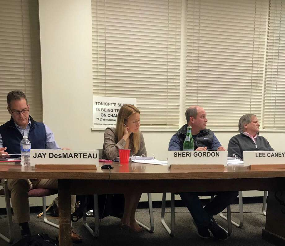 The Board of Finance reviewed the town budget on Wednesday in Westport. Photo: DJ Simmons /Hearst Connecticut Media